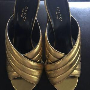 Gucci Webby Heels, Size 38.5